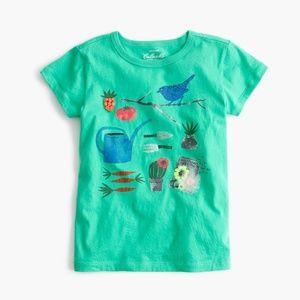 😍😍Crewcuts Collectible Garden T-shirt NWT
